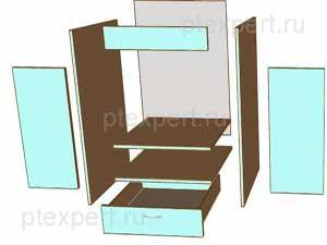 царга консоль корпусной мебели