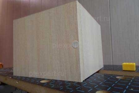 Крепление деталей мебели конфирматом