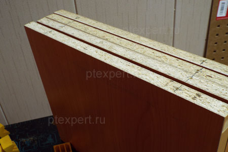 Просверленные полочки навесной настенной полки